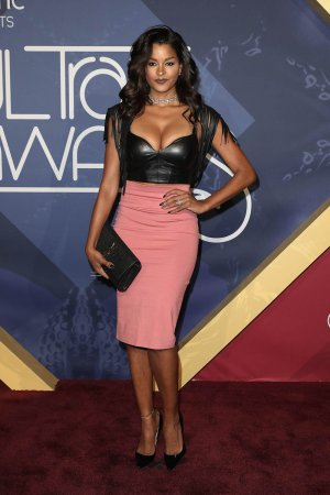 Claudia Jordan attends Soul Train Awards 2016