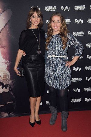 Claudia Kampus attends Sharknado The 4th Awakens Premiere