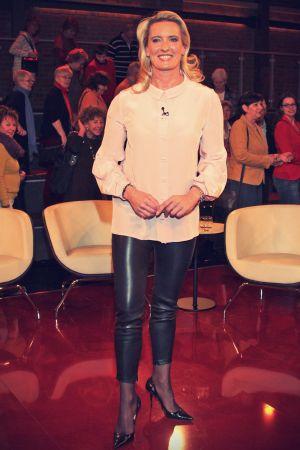 Claudia Kleinert guest of the ZDF program M.Lanz