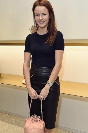 Claudia Lambeth at J&M Davidson's Mount Street store