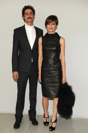 Claudia Pandolfi attended the Armani fashion show during the FW