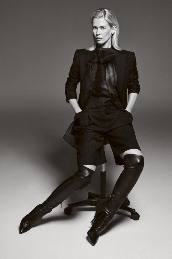 Claudia Schiffer in Elle Magazine UK