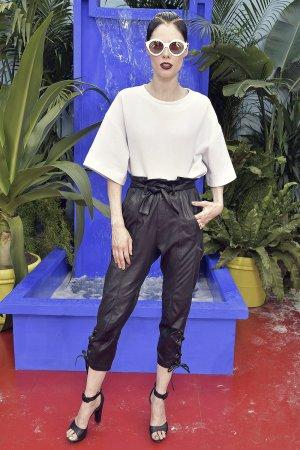 Coco Rocha attends Bonpoint show