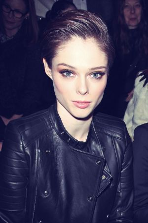 Coco Rocha attends Diesel Black Gold Fashion Show