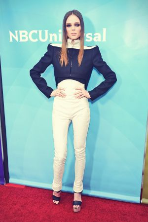 Coco Rocha attends NBCUniversal's 2013 Winter TCA Tour