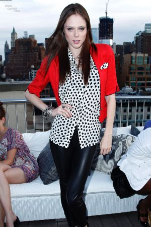 Coco Rocha attends the David Yurman Sunset Over the Hudson soiree