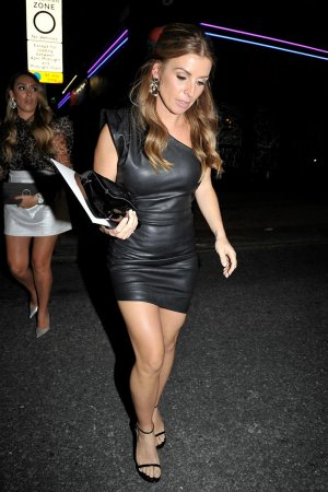 Coleen Rooney attends Wes Brown's 40th Birthday Party