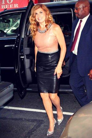 Connie Britton at NBC's Today Show