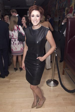 Connie Fisher attends Carousel theatre press night