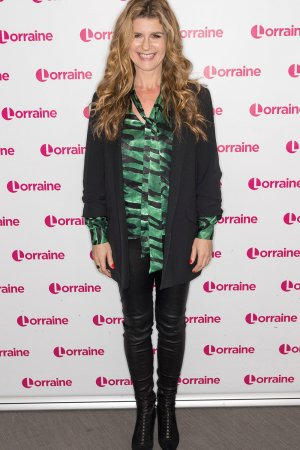 Connie Hyde attends Lorraine TV show