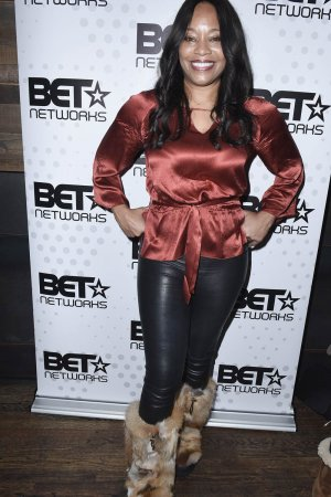 Connie Orlando attends the BET Hosted Reception