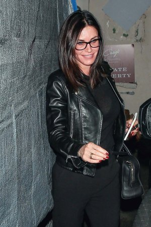 Courteney Cox at Craig's restaurant in West Hollywood