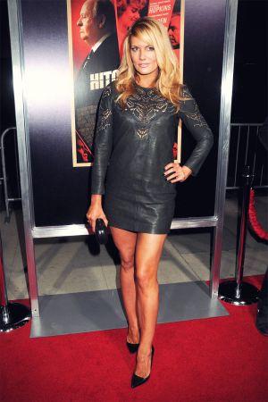Courtney Hansen attends Hitchcock Los Angeles premiere