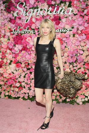 Courtney Love at Salvatore Ferragamo Celebrates The Launch Of Signorina