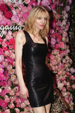 Courtney Love at Signorina Fragrance launch
