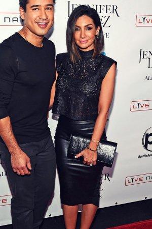 Courtney Mazza opening night of Jennifer Lopez's 'All I Have' Residency