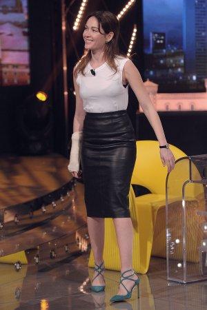 Cristiana Capotondi at chat-show E poi c'è Cattelan