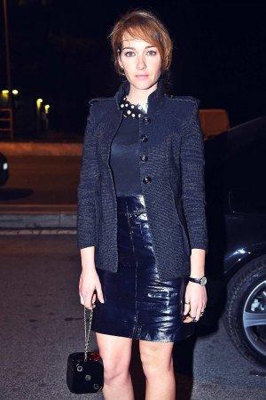 Cristiana Capotondi attends Chanel Metiers d'Art 2015/16 Fashion Show
