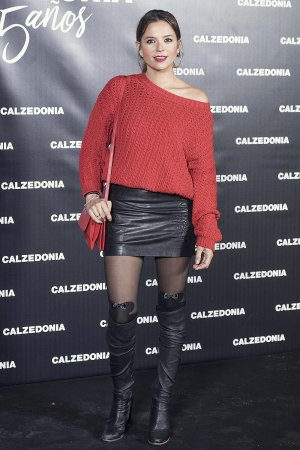 Cristina Alarcon attends Calzedonia 25th Anniversary party