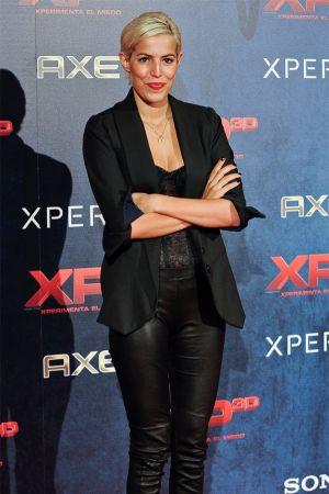 Cristina Warner at XP3D Premiere at Callao Cinema in Madrid