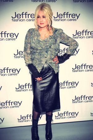 Cyndi Lauper attends the Jeffrey Fashion Cares 10th Anniversary Celebration