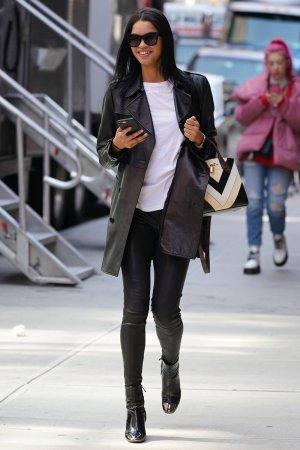 Daiane Sodre is seen in NYC