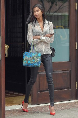 Daiane Sodre out in Tribeca