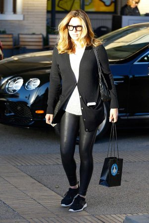 Daisy Fuentes out & about in Beverly Hills