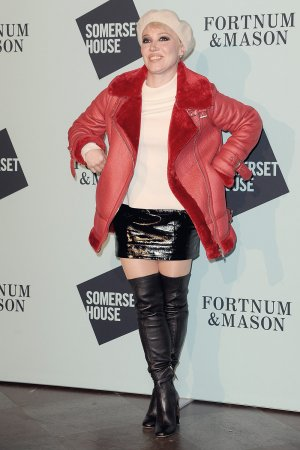 Daisy Lewis attends Skate at Somerset House launch party