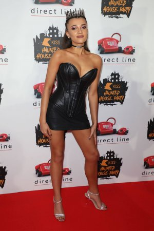 Daisy Maskell attends 2019 KISS FM Haunted House Party