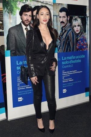 Dajana Roncione attends La mafia uccide solo d'estate 2 Preview