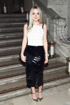 Dakota Fanning attends Chanel Fine Jewelry Dinner