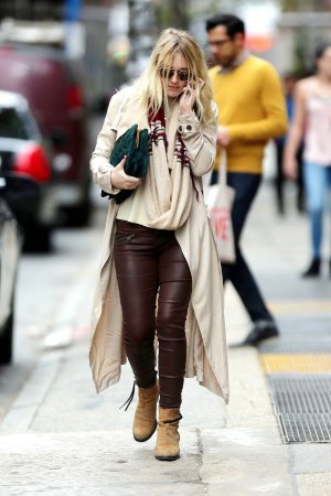 Dakota Fanning Out & About in NYC