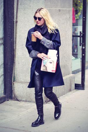 Dakota Fanning out in NYC