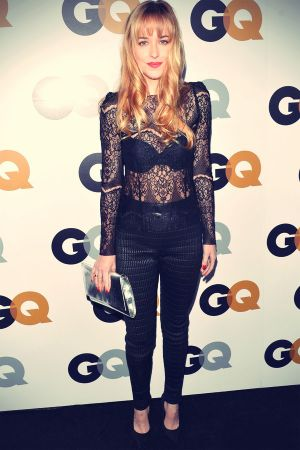 Dakota Johnson attends the 2012 GQ Men of the Year Party