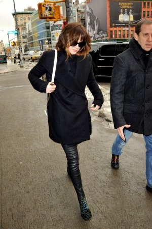 Dakota Johnson was seen walking around Manhattan
