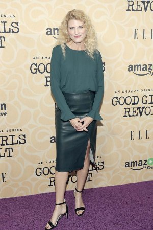 Dana Calvo attends the Good Girls Revolt New York screening