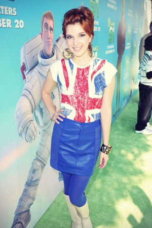 Dani Thorne arrives at the premiere of Sony Pictures Planet 51