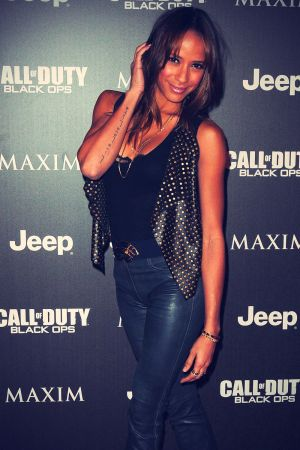 Dania Ramirez at Jeep, Maxim and Call Of Duty: Black Ops
