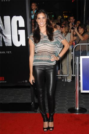 Daniela Ruah at The Thing Premiere in California