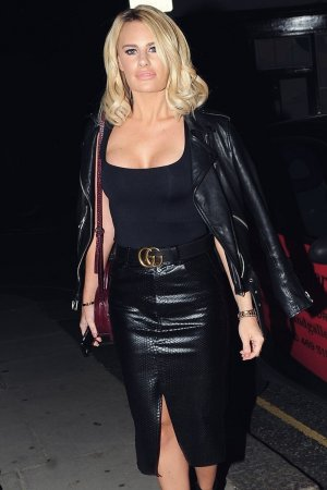 Danielle Armstrong attends Chloe Sims' birthday party