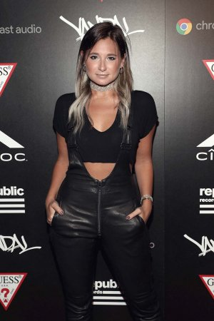 Danielle Bernstein attends Republic Records VMA party