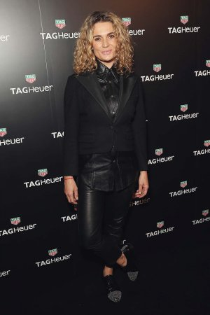Danielle Cormack arrives at the TAG Heuer Sydney Flagship Re-Opening