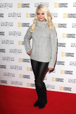 Danielle Harold attends the Comedy Central Friends Festive Exhibition launch