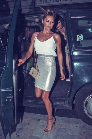 Danielle Lineker at Chiltern Firehouse