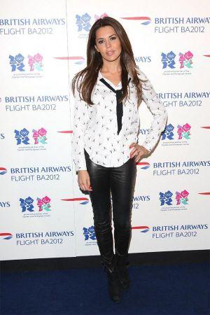Danielle Lineker at launch of Flight BA2012