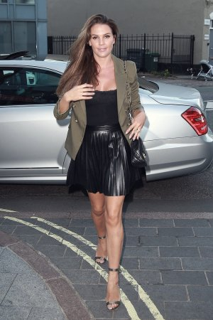 Danielle Lloyd attends Skin HQ Launch Party