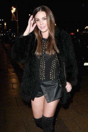 Danielle Lloyd night out in Birmingham
