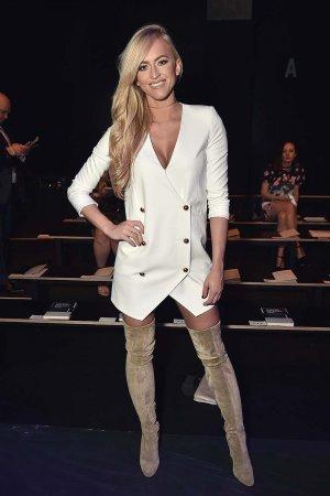 Danielle Moinet seen at New York Fashion Week