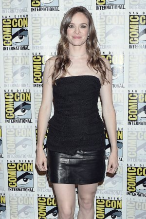 Danielle Panabaker attends Comic-Con